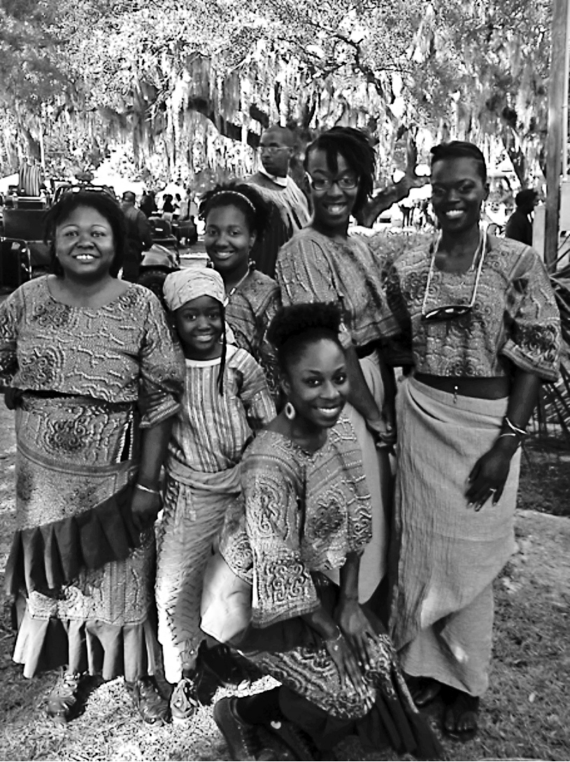 Low Country African Drummers and Dancers, Penn Center Heritage Days Celebration. Photo courtesy of Penn Center, Inc.