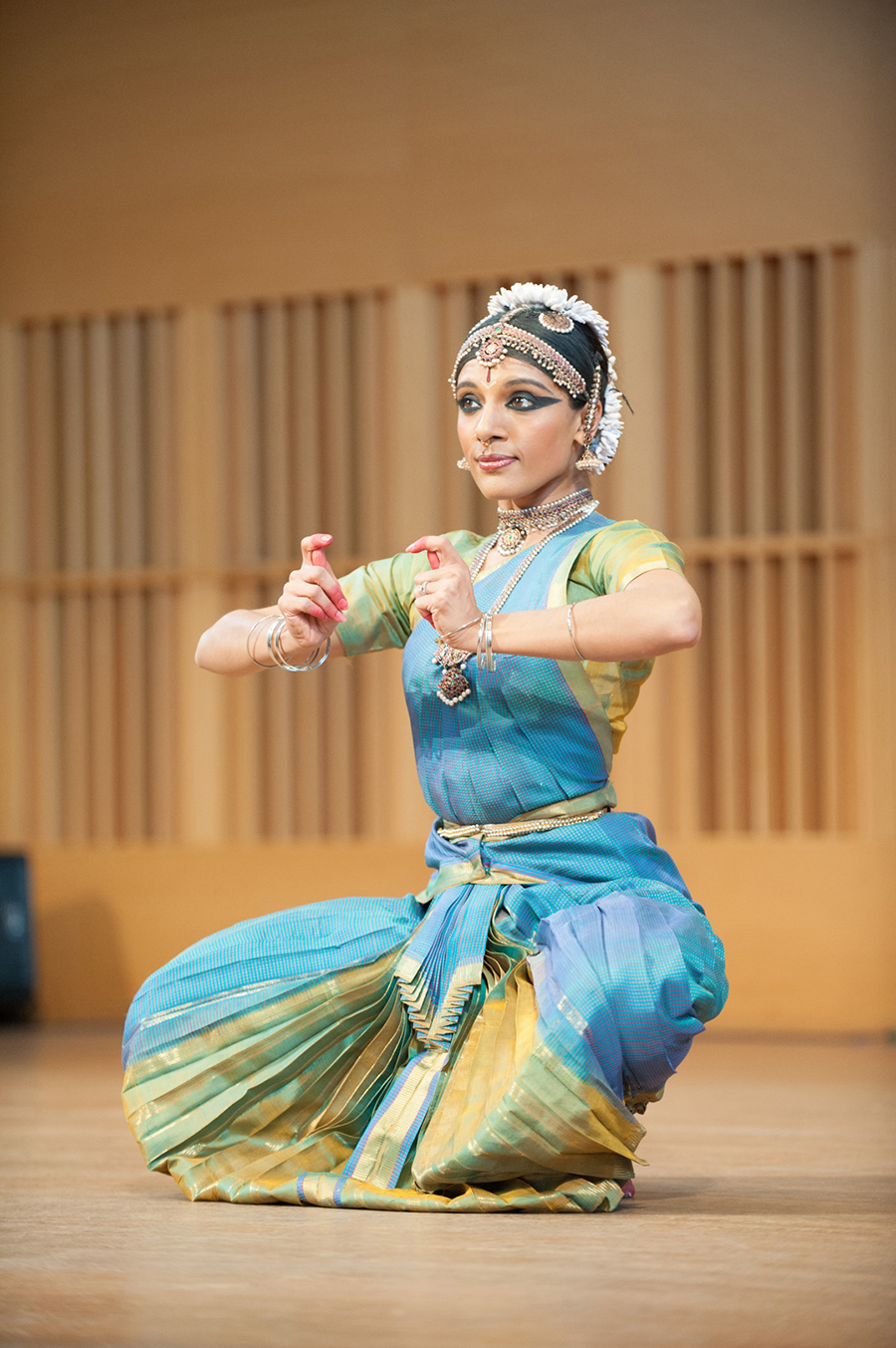 National Dance Project grant recipient Aparna Ramaswamy, Wesleyan University. Photo by Ed Rudman.