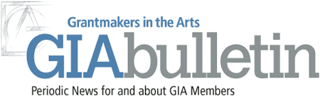 Grantmakers in the Arts logo