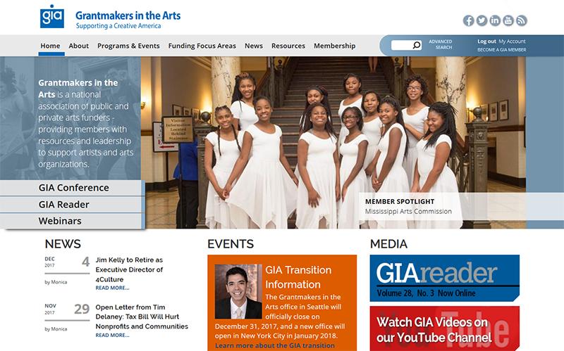 GIA Website Screenshot